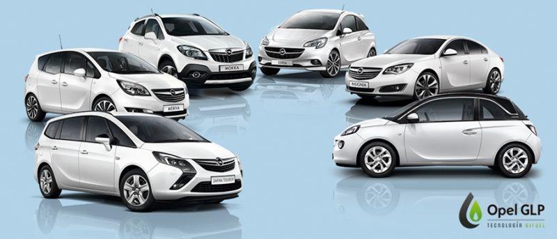 Gama de vehículos nuevos y usados opel GLP Mallorca