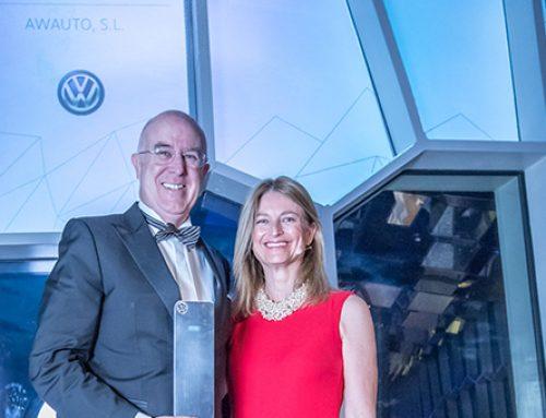 El concesionario Awauto Volkswagen premiado en la quinta edición de los Excellence Awards de Volkswagen